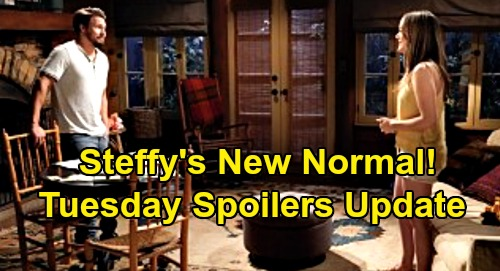 The Bold and the Beautiful Spoilers Update: Tuesday, August 4 – Katie Fumes Over Sally – Steffy's New Normal