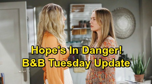 The Bold and the Beautiful Spoilers Update: Tuesday, November 10 – Hope in Danger, Thomas Battles Dark Desires