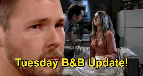 The Bold and the Beautiful Spoilers Update: Tuesday, November 24 – Thomas & Hope Passion Erupts – Liam Left Shaken & Shattered