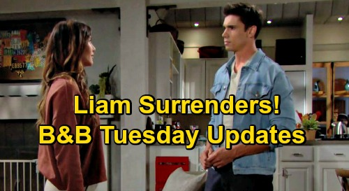 The Bold and the Beautiful Spoilers Update: Tuesday, October 20 – Liam Surrenders to Steffy's New Romance – Zende's Career Boost for Zoe