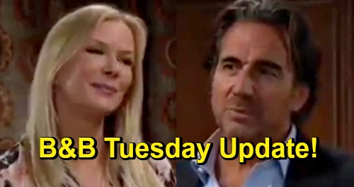 The Bold and the Beautiful Spoilers Update: Tuesday, October 27 – Ridge Kisses Bride Brooke Again - Carter Pronounces Them Husband & Wife