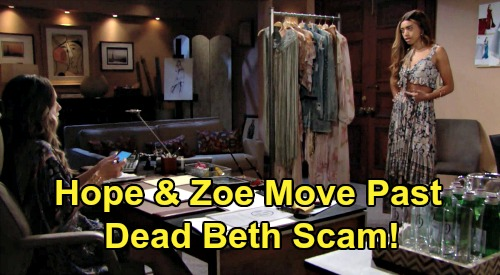 The Bold and the Beautiful Spoilers Update: Wednesday, August 12 – Zoe & Hope Move Past Dead Beth Scam - Ridge Enrages Brooke with New Wife Shocker