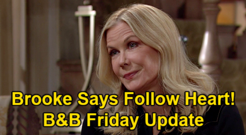 The Bold and the Beautiful Spoilers Update: Friday, February 19 – Katie's Decision, Brooke Says Follow Heart – Carter Warns Paris