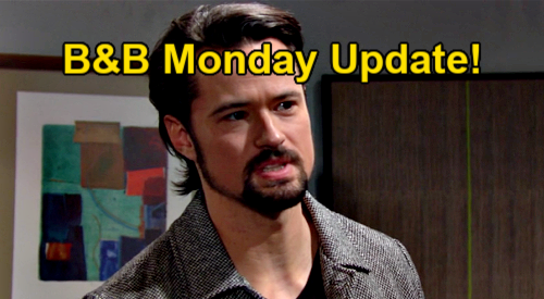 The Bold and the Beautiful Spoilers Update: Monday, March 1 – Finn Spots Mystery Person He Knows – Thomas Gets Vinny Answers