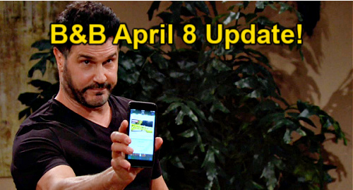 The Bold and the Beautiful Spoilers Update: Thursday, April 8 – Liam Is Missing, Hope's Alarm Bells – Bill's Ticking Time Bomb