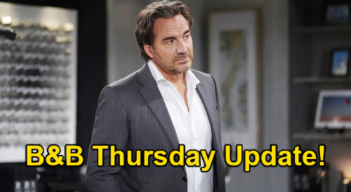 The Bold and the Beautiful Spoilers Update: Thursday, July 8 – Hope hears Thomas' wild story after successful escape