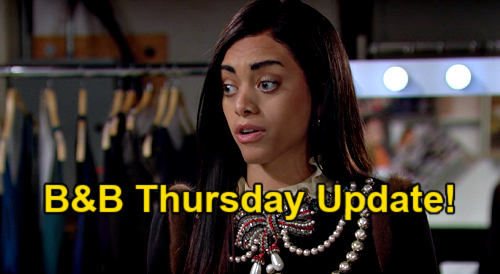 The Bold and the Beautiful Spoilers Update: Thursday, March 4 – Zoe Sets Carter Temptation Trap – Zende's Fun Paris Plan