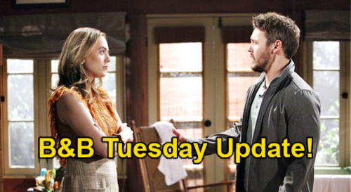 The Bold and the Beautiful Spoilers Update: Tuesday, April 27 – Liam & Hope's Major Marriage Choice – Quinn's Eric Future Fades