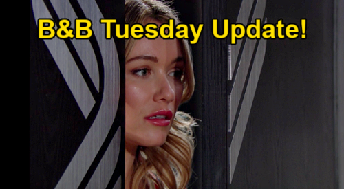 The Bold and the Beautiful Spoilers Update: Tuesday, January 19 – Flo Trashes Sally - Thomas Overhears Hope's Heartache