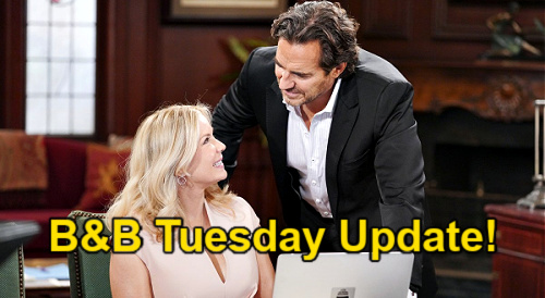 The Bold and the Beautiful Spoilers Update: Tuesday, July 20 – Ridge Faces Brooke's Shocking Proposal – Steffy Calm Before Storm