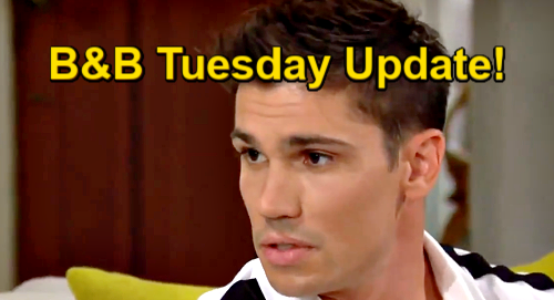 The Bold and the Beautiful Spoilers Update: Tuesday, July 27 – Steffy Wants Truth from Finn – Paris' Dangerous New Attraction