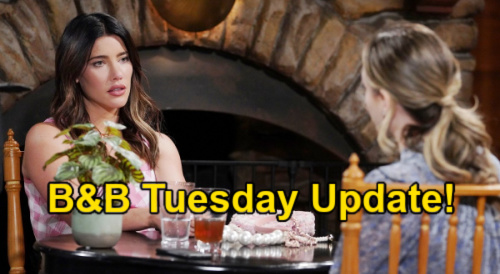 The Bold and the Beautiful Spoilers Update: Tuesday, June 22 – Steffy & Hope Unite - Thomas Knocked Out, Justin's Plot Begins