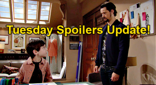 The Bold and the Beautiful Spoilers Update: Tuesday, March 30 – Thomas & Hope Bond Over Douglas Drama – Brooke Attacks Ridge's Son