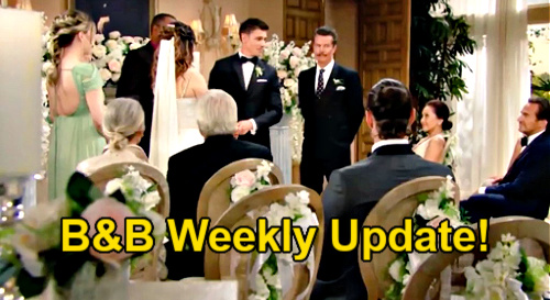The Bold and the Beautiful Spoilers Update: Week of August 2 – Finn's Romantic Gift for Steffy – Quinn & Carter Wedding Outcasts