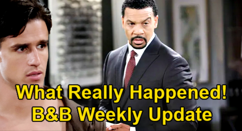 The Bold and the Beautiful Spoilers Update: Week of June 21 – New Vinny Flashbacks Show What Really Happened