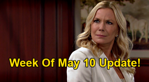 The Bold and the Beautiful Spoilers Update: Week of May 10 – Brooke Sounds Quinn Alarm – Liam's Next Crisis - Zoe's Discovery