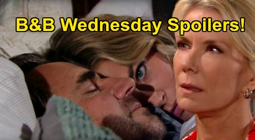 The Bold and the Beautiful Spoilers: Wednesday, August 26 - Brooke Walks In On Ridge & Shauna In Bed Together