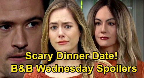 The Bold and the Beautiful Spoilers: Wednesday, November 11 - Hope Mannequin Goes On Dinner Date - Liam Doubles Down On Thomas