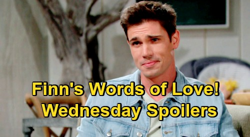 The Bold and the Beautiful Spoilers: Wednesday, October 21 - Steffy Hears Finn's Words of Love - Zende Shares Innermost Desire With Zoe