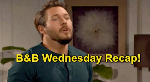 The Bold and the Beautiful Spoilers: Wednesday, October 28 Recap - Steffy Tells Liam She's Running Off To Cabo, Marrying Finn