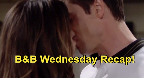 The Bold and the Beautiful Spoilers: Wednesday, September 16 Recap - Steffy & Finn Kiss - Thomas Accuses Liam Of Being Jealous