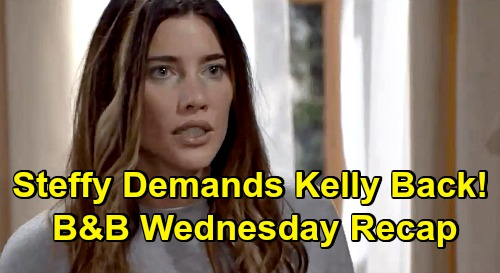 The Bold and the Beautiful Spoilers: Wednesday, September 23 Recap - Brooke Praises Hope - Steffy Demands Kelly Back Now