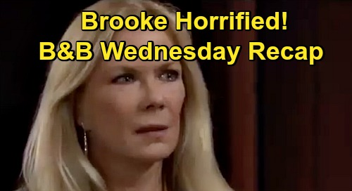 The Bold and the Beautiful Spoilers: Wednesday, September 30 Recap - Ridge Agrees To Marry Shauna Again - Brooke Horrified