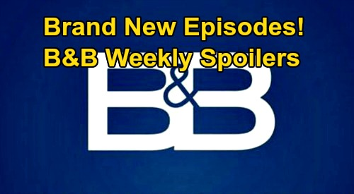 The Bold and the Beautiful Spoilers: Week of July 20 Update – Wyatt Saves Hostage Flo - Bill Causes Steffy Crash – Dr. Finn Debuts