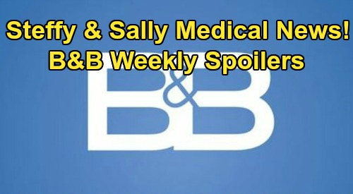 The Bold and the Beautiful Spoilers: Week of July 27 – Sanchez Grills Guilty Bill – Sally Story Twist – Steffy's Tough Fight