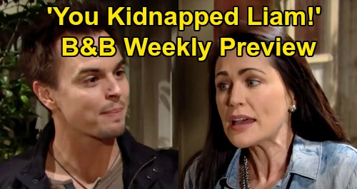 The Bold and the Beautiful Spoilers: Week of June 8 Preview 'Fan Choice' – Quinn's Cabin Kidnapping, Wyatt Finds Amnesiac Liam