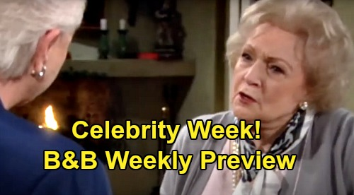 The Bold and the Beautiful Spoilers: Week of May 25 Preview – 'Celebrity Week' Features Betty White, Usher, Gina Rodriguez and More