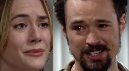 The Bold and the Beautiful Spoilers: Week of November 30 Preview - Thomas Keels Over After Tearful Hope Exchange - Matthew Atkinson Praised