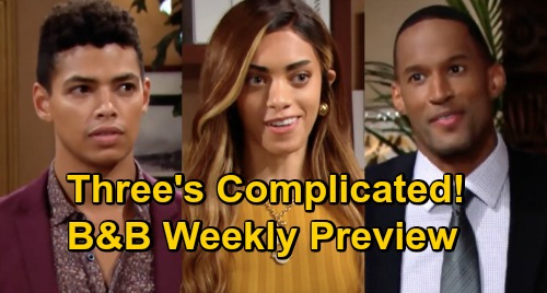 The Bold and the Beautiful Spoilers: Week of October 12 Preview – Carter Surprise Trip for Zoe – Zende Complicates Couple's Plans
