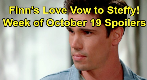The Bold and the Beautiful Spoilers: Week of October 19 – Finn's Swoon-worthy Vow to Steffy, Love Grows – Hope Warns Liam Off Ex