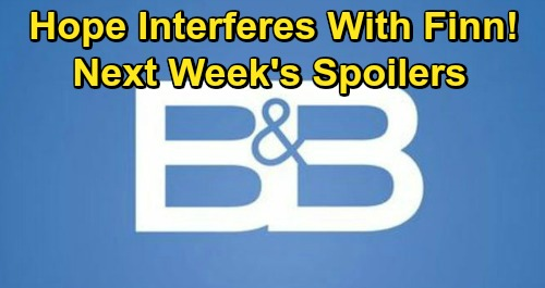 The Bold and the Beautiful Spoilers: Week of October 26 – Steffy Accuses Hope of Finn Agenda – Wyatt Panics Over Roomie Quinn