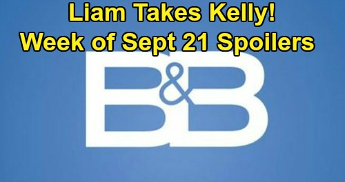 The Bold and the Beautiful Spoilers: Week of September 21 – Liam Discovers Steffy's Pill Bottle, Takes Kelly Away From Mom
