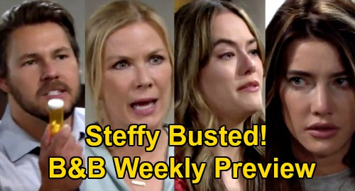 The Bold and the Beautiful Spoilers: Week of September 21 Preview - Liam Busts Steffy - Brooke & Hope Face Steffy's Vicious Wrath