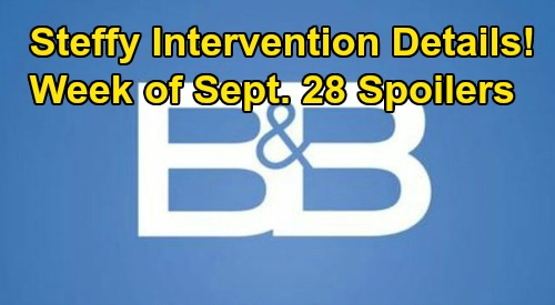 The Bold and the Beautiful Spoilers: Week of September 28 – Steffy's Intervention Details – Ridge's New Wedding Shatters Brooke