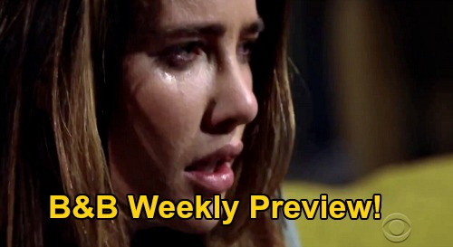 The Bold and the Beautiful Spoilers: Week of September 7 Preview - Steffy's Addiction Out of Control - Finn Confronts Desperate Patient