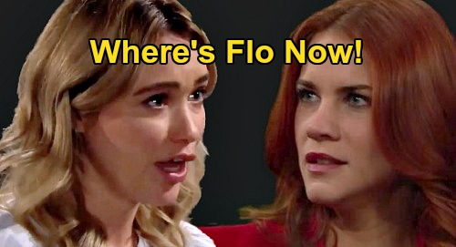 The Bold and the Beautiful Spoilers: Where Is Flo Now? – Characters Missing, Restrained, and Unseen