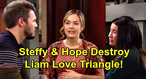 The Bold and the Beautiful Spoilers: Why Do Steffy And Hope Allow Liam To Keep The Love Triangle Alive?