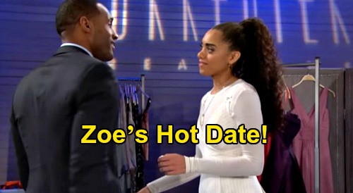 The Bold and the Beautiful Spoilers: Zoe's Hot Date with Carter – New Couple Sizzles Before Zende Returns for Heart-Stealing