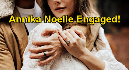 The Bold and the Beautiful Spoilers: Annika Noelle Engaged - Hope Logan Star Shares Wonderful News With Fans