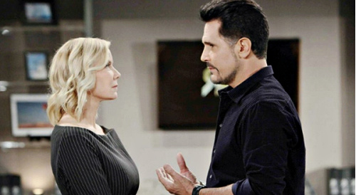 The Bold and the Beautiful Spoilers: Bill Tempts Brooke with Power, Wants Ex on Spencer Team – Ridge's Wife in Enemy Territory?