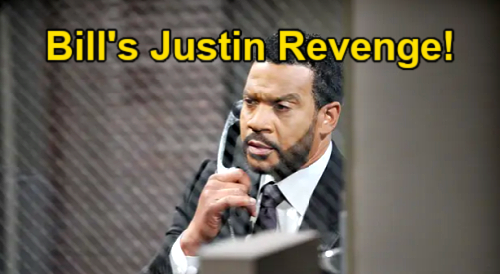 The Bold and the Beautiful Spoilers: Bill Unleashes Wrath on Justin – Lawyer Pays for Hiding Evidence to Acquit Liam