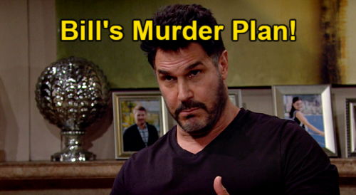 The Bold and the Beautiful Spoilers: Bill to Permanently Silence Suspicious Thomas – Vinny Accident Escalates to Murder?
