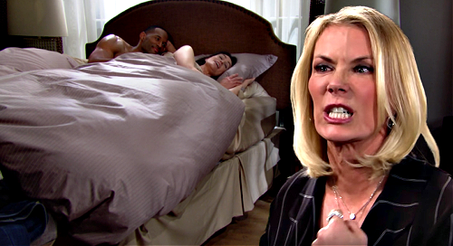 The Bold and the Beautiful Spoilers: Brooke Destroys Quinn, Exposes Carter Cheating to Eric - Portrait Comes Down?