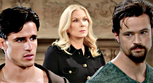 The Bold and the Beautiful Spoilers: Brooke Says Thomas Switched Paternity to Steal Hope – Vinny's Crime Blamed on Wrong Man?