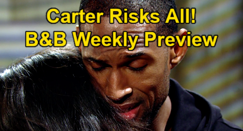 The Bold and the Beautiful Spoilers: Carter Risks It All For Love, Can't Stop Seeing Quinn