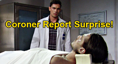 The Bold and the Beautiful Spoilers: Coroner's Report Reveals Vinny Murder Clues – Dr. Ricks' Findings Set Up Liam Story Twist?